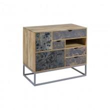 Console Mango wood Iron (90 x 45 x 60 cm)