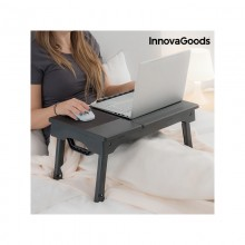 InnovaGoods Folding Portable Laptop Table with LED