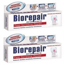 2pcs Biorepair Fast Sensitive Repair Toothpaste (non Fluoride)